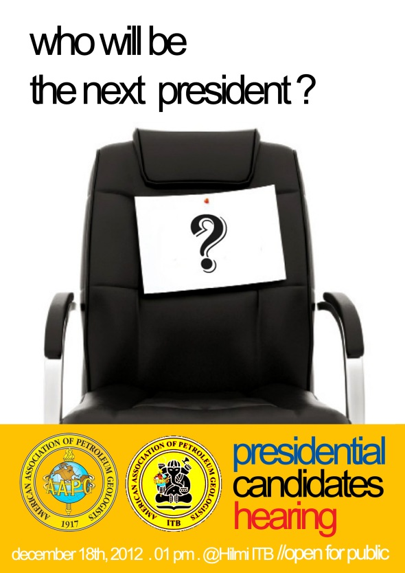 ITB SC AAPG Presidential Election